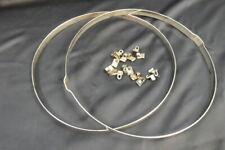 """Vintage Leedy / Ludwig 14"""" Snare Drum Hoop w/ Claws"""