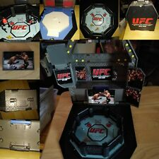 UFC Ultimate Fighting Jakks Pacific DELUXE Ring Official Scale Octagon Play set