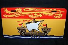 NEW BRUNSWICK FLAG CAR LICENSE PLATE  DRAPEAU DU NOUVEAU-BRUNSWICK