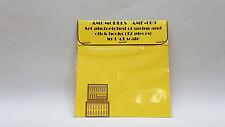 SET P/E OF SPRING AND CLICK (32 PCS) AMG AMF-009 1/43 FERRARI N/ AMR MG TRON