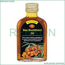 The Best High Quality 100% Organic Herbal Extra Virgin Sea Buckthorn Oil 100ml