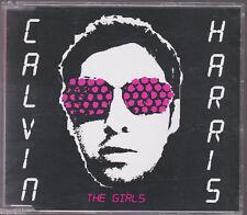 RARE SAMPLE PROMO LIKE NEW CD SINGLE Calvin Harris- The Girls Australian 4 Track