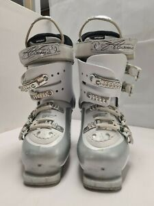 Atomic B80 Ski Boots Women's Size 25.5 - 26 In White/Silver E36