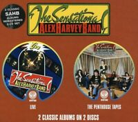 The Sensational Alex Harvey Band - Live / The Penthouse Tapes [CD]