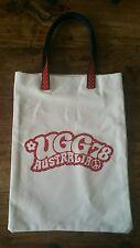 UGG Australia Tote Shopping Grocery BORSA. design retrò Pace Firmare. Nuovo di Zecca