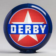 """Derby 13.5"""" Gas Pump Globe w/ Dark Blue Body (G121)"""