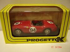 Progetto K Ferrari 225 Prova in box