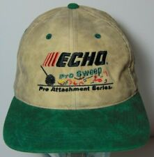 Old Vintage 1990s ECHO PRO SWEEP SERIES LAWN EQUIPMENT Rayon Adjustable Hat Cap