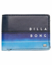 New Billabong Men's Team Flip Wallet Pu Blue