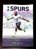 Tottenham Hotspur ( Spurs ) v Liverpool Programme 15/09/2018
