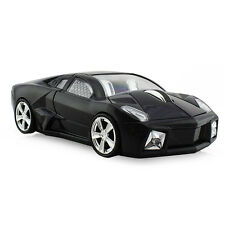 3D Usb 2.4G wireless Mouse Optical Lamborghini car Mice for Laptop PC Mac Black
