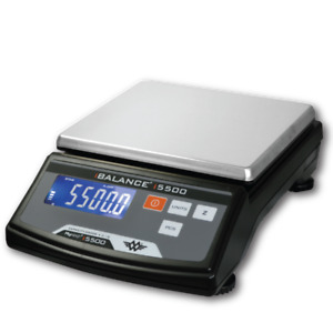 MyWeigh iBalance i5500 Table Top Precision Scale 5500 x 0.1g High Capacity Black