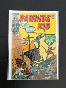 RAWHIDE KID #82 MARVEL COMICS VG 1970