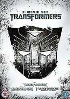 TRANSFORMERS 3 MOVIE SET REVENGE OF THE FALLEN DARK OF THE MOON 3 DISC DVD NEW