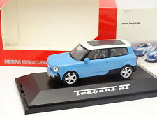 Herpa 1/43 - Trabant NT Bleue
