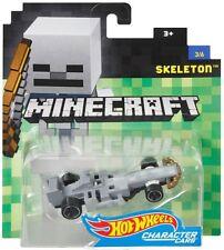 Hot Wheels Minecraft Skeleton Diecast Character Car #3/6