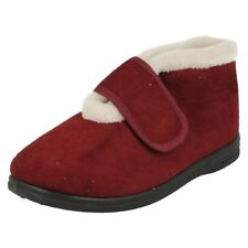 Hook and Loop Fasteners Solid Shoes for Women
