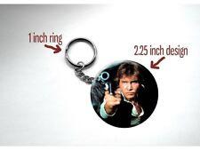 "Star Wars Han Solo Shot First Harrison Ford 1977 2.25"" Key Chain"