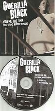 GUERILLA BLACK w/ MARIO WINANS You're One CLEAN & INSTRUMENTAL PROMO CD Single