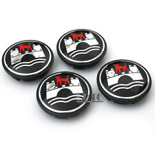 4Pcs 65mm Wolfsburg Wheel Center Hub Caps Badge Emblem For VW Golf Jetta Rabbit