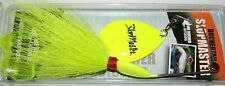 "5"" Slopmaster Joe Bucher Musky Pike Spinnerbait Chartreuse 528-85008"