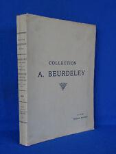 COLLECTION BEURDELEY DESSINS ANCIENS SIXIEME VENTE 1920