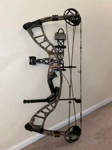 "Hoyt Powermax ""Long Draw"" RTH / Ready to Hunt / Compound Bow 26.5"" - 31"" / CAMO"
