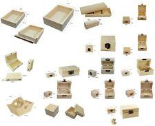 scatoline bauli scatole legno decoupage fai da te bomboniere portaconfetti charm