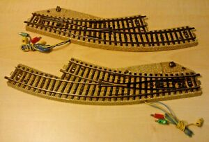 Märklin H0 16863 6/12ft Track Electromagnetic Arc Soft Pair Tested