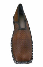 Men Shoes Indian Handmade Leather Loafers & Slip Ons Brown Jutties US 11