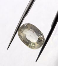 7.96 Ct Huge Size Natural Colorless Sapphire Loose SI Clarity Ceylon No Heat Gem