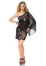 Jerseykleid One-Shoulder, MELROSE. Bedruckt. Gr. 40. NEU!!! KP 57,99 €