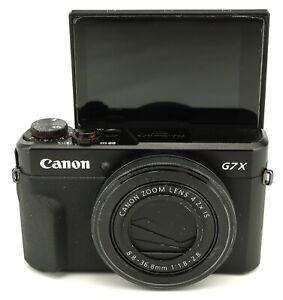 Canon PowerShot G7X Mark II 20.1MP Camera