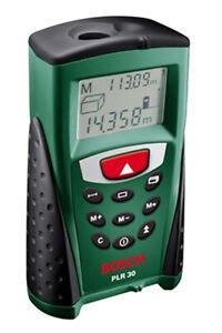 Misuratore laser distanziometro digitale portatile BOSCH PLR 30 con custodia