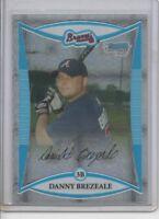 2008 BOWMAN CHROME DANNY BREZEALE ROOKIE X-FRACTOR #rd 250