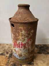 New ListingWhite Cap Cone Top Beer Can - Two Rivers, Wi - Rusty Gold Lol