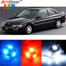 10 x Premium Xenon White LED Lights Interior Package Kit for Honda Accord 94-97