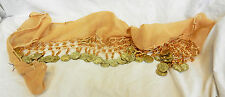 Belly Dancer's Scarf - Coin Scarf - Dancewear / Pretty Belt or Scarf