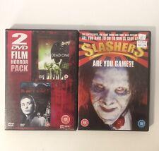 slashers dvd + silent night bloody night + the dead one dvd JOB LOT HORROR DVDs