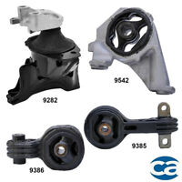 For 06-11 Honda Civic 2.0L 4540 4588 4589 65014 Engine Motor Mount Set 4PCS