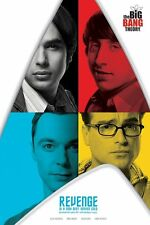 Poster BIG BANG THEORY - Revenge Is A Dish Best Served Cold ca60x90cm NEU 58312