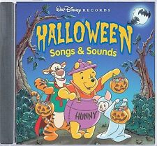Halloween Songs & Sounds by Disney (CD, 2001)