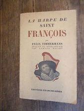 La harpe de Saint François / Felix Timmermans