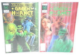 TWO NOW Comics Tales of the Green Hornet 1 & 2 Complete 1990