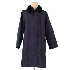 Aquascutum Coats Jackets Black Woman Authentic Used P707
