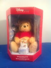 NEW- Winnie The Pooh Special Edition w/Snow Globe - Disney Store Exclusive 2002