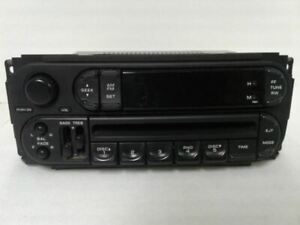 Radio Receiver CD Player 2002-2007 DODGE CARAVAN 56038589AN