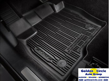 2016-2017 FORD EDGE OEM 4PC RUBBER TRAY STYLE MAT
