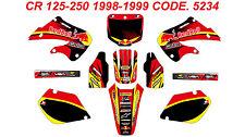 5234 HONDA CR 125 98-99 CR 250 97-99 Autocollants Déco Graphics Stickers Kit