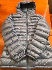UNIQLO Ultra Light Down Women's Baby Blue Puffer Jacket Coat Sz S